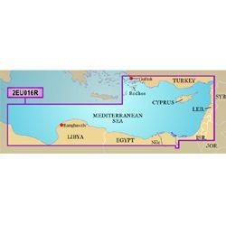 Bluechart 2EU016R Harita Data Kartı g2 - Doğu Akdeniz