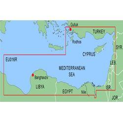Bluechart MEU016R Harita Data Kartı - Doğu Akdeniz