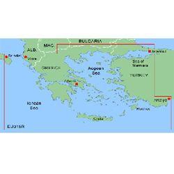 Bluechart MEU015R Harita Data Kartı - Ege Marmara
