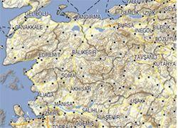 Garmin Türkiye Topografya Haritası