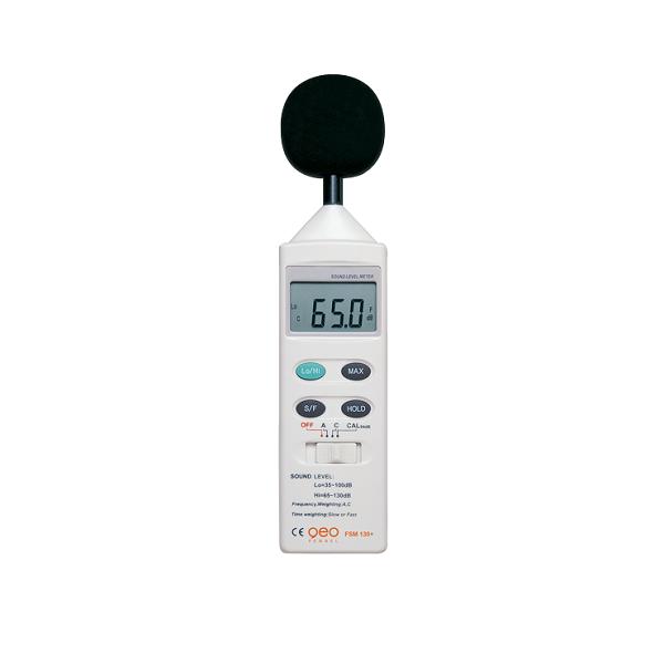 GEO FENNEL FSM 130 + Frekans A,C  Ses ve Gürültü Ölçer