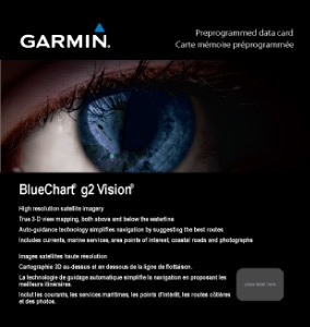 Garmin Bluechart G2 Vision 3D