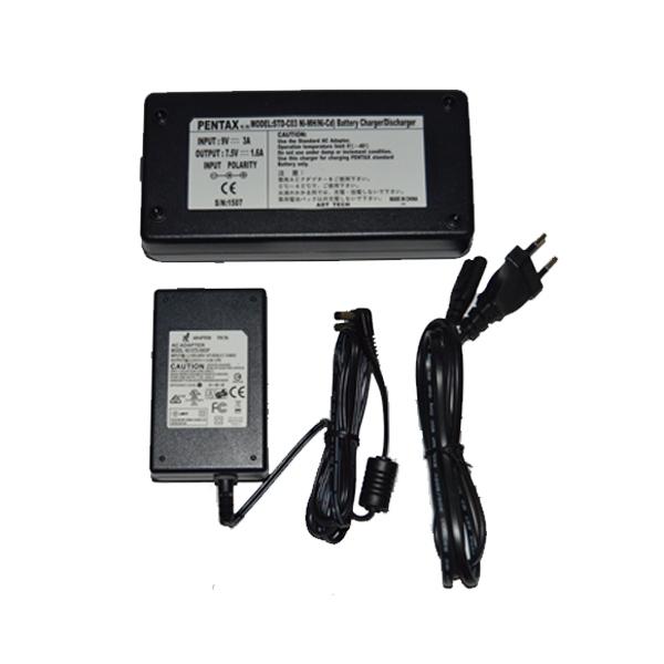 PENTAX STD-C03 Model Şarj Cihazı Seti.