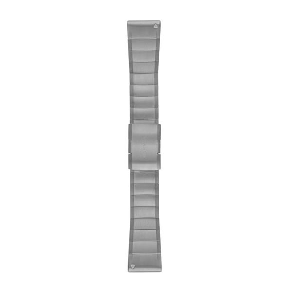 Garmin Quickfit 26 mm Yedek Kayış - Çelik Gri