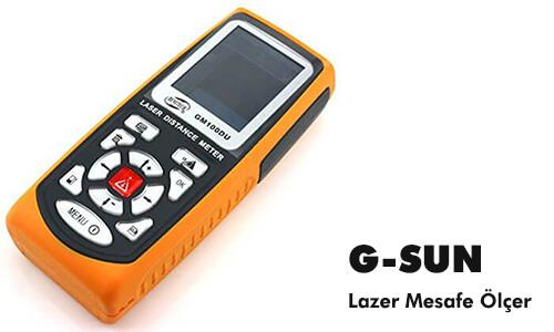 G-SUN GM100DU Lazer Mesafe Ölçer (100m)