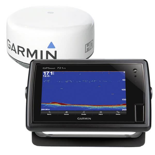Garmin GPS 721xs/GMR 18HD Bundle