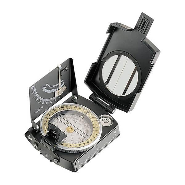 KASPER RICHTER Meridian Pro Model Eğim Ölçerli Pusula