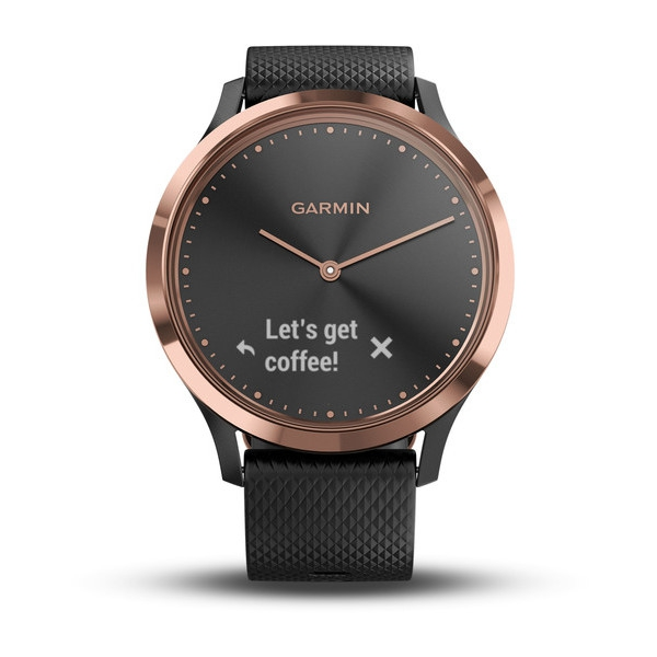 Garmin vivomove HR Rose Gold Siyah