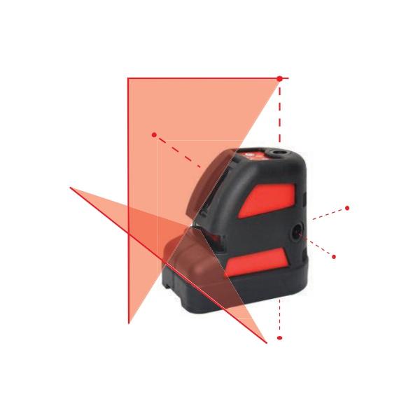 ELP106 Lazerli Nivo - Alıcı Dedektör ile