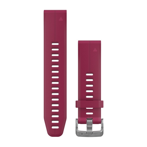 Quickfit 20 mm Yedek Kayış - Kiraz Kırmızısı