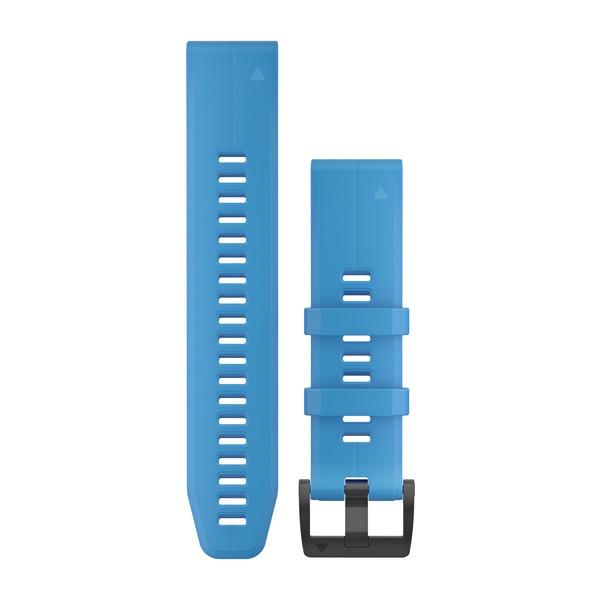 Quickfit 22 mm Yedek Kayış -  Açık Mavi