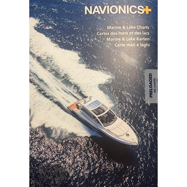 Navionics+ Deniz ve Göl Haritası | Akdeniz - Karadeniz