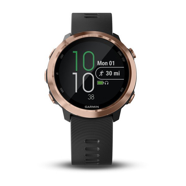 Garmin Forerunner 645 Music - Rose Gold Siyah