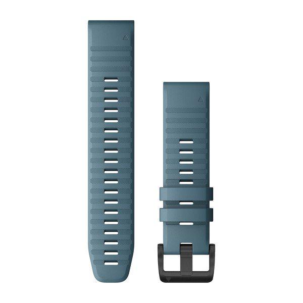 Quickfit 22 mm fenix 6 Serisi Yedek Kayış - Göl Mavisi