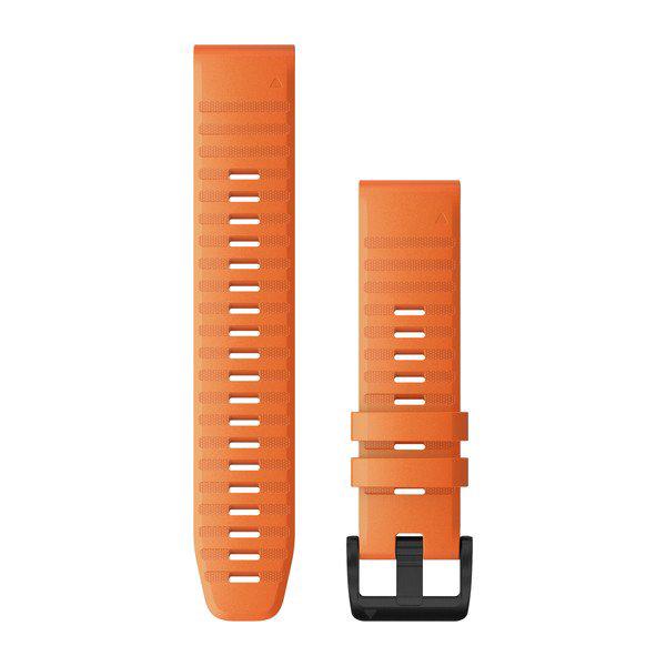 Quickfit 22 mm fenix 6 Serisi Yedek Kayış - Turuncu