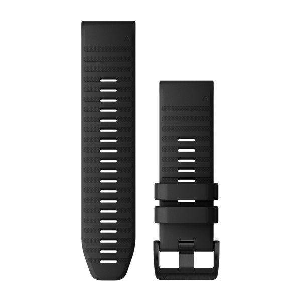 Quickfit 26 mm fenix 6 Serisi Yedek Kayış - Siyah
