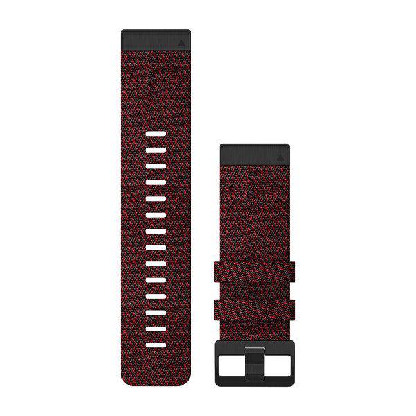 Quickfit 26 mm fenix 6 Serisi Yedek Kayış - Desenli Kırmızı