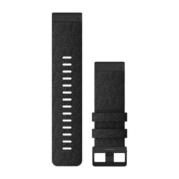 Garmin Quickfit 26 mm fenix 6 Serisi Yedek Kayış - Desenli Siyah