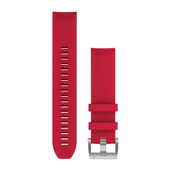 Garmin MARQ Serisi 22 mm Yedek Kayış - Kırmızı