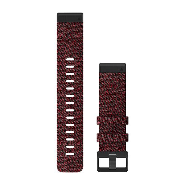 Garmin Quickfit 22 mm Yedek Kayış - Desenli Kırmızı