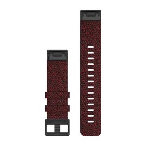 Garmin Quickfit 22 mm Yedek Kayış - Desenli Kırmızı-2.png