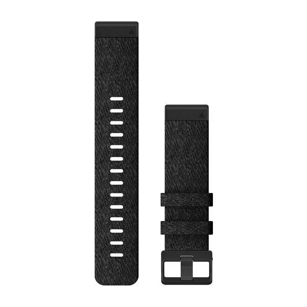 Garmin Quickfit 22 mm Yedek Kayış - Desenli Siyah