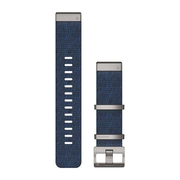 Garmin Quickfit 22 mm MARQ Yedek Kayış - Jacquard Desenli Indigo