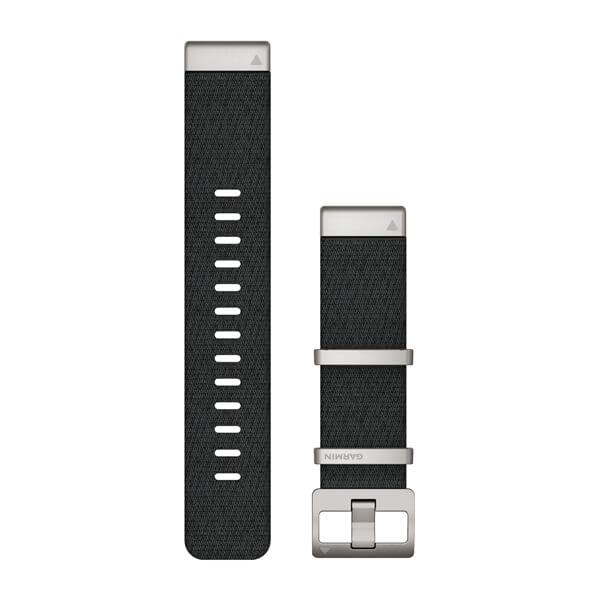 Garmin Quickfit 22 mm MARQ Yedek Kayış - Jacquard Desenli Siyah