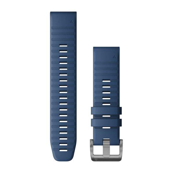 Quickfit 22 mm fenix 6 Serisi Yedek Kayış - Captain Mavi