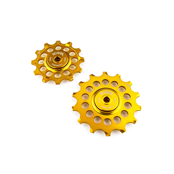 Kogel 12/14T Oversized derailleur pulley / Full Ceramic Shimano - Midas Gold