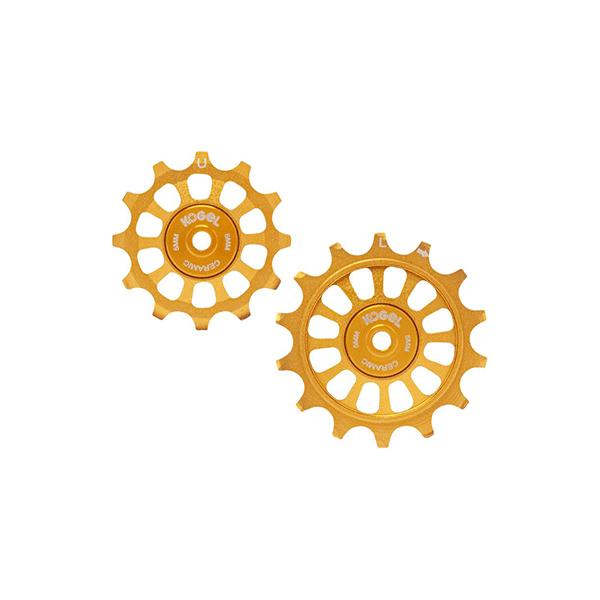 Kogel 12/14T Oversized derailleur pulley / Shimano / Road - Midas Gold