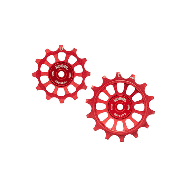 Kogel 12/14T Oversized derailleur pulley / Shimano / Road - Fire Engine Red