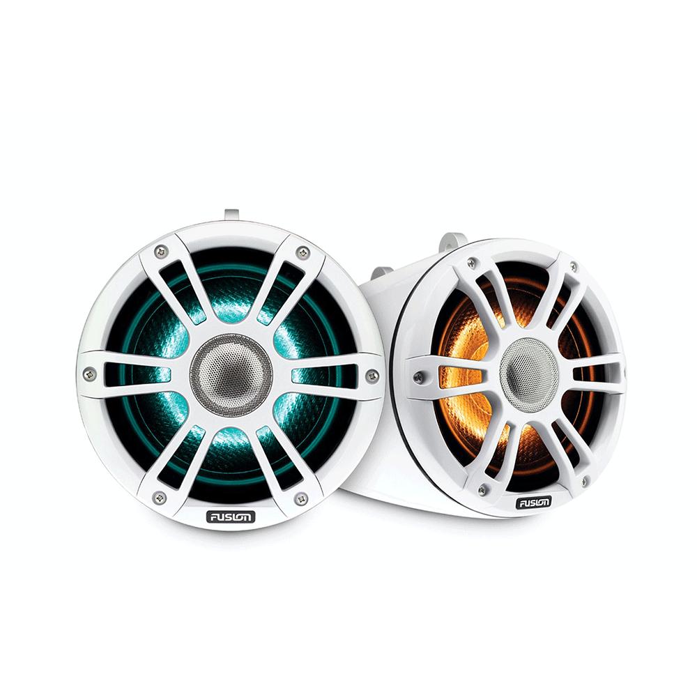 Fusion SG-FLT652SPW Wake Tower Beyaz Marine CRGBW LED Hoparlör