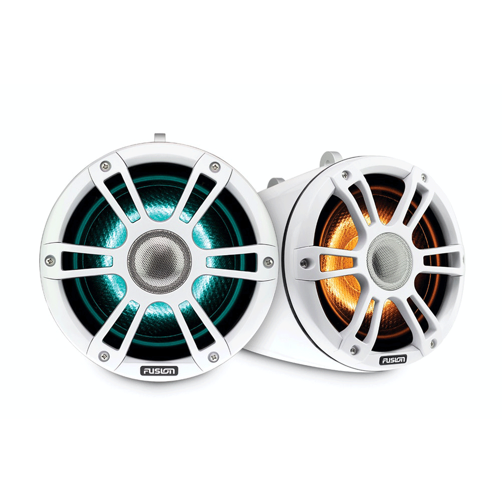 Fusion SG-FLT772SPW Wake Tower Beyaz Marine CRGBW LED Hoparlör