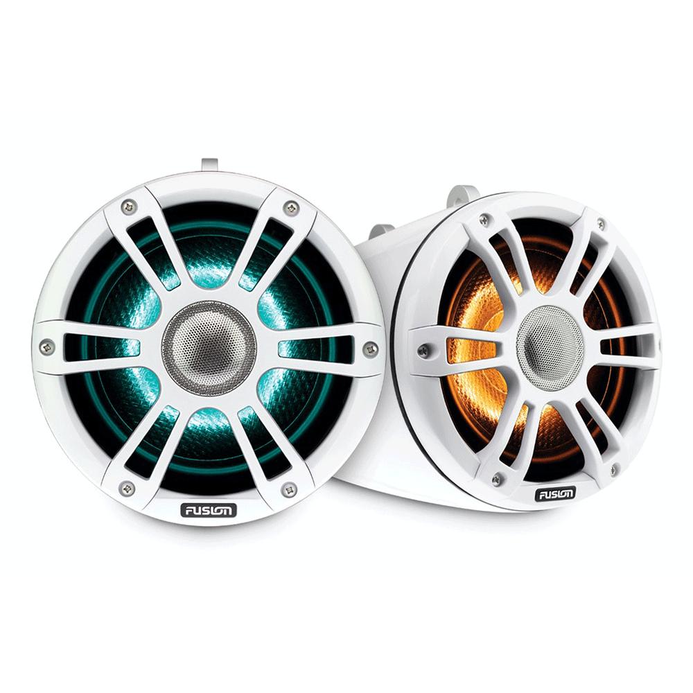 Fusion SG-FLT882SPW Wake Tower Beyaz Marine CRGBW LED Hoparlör