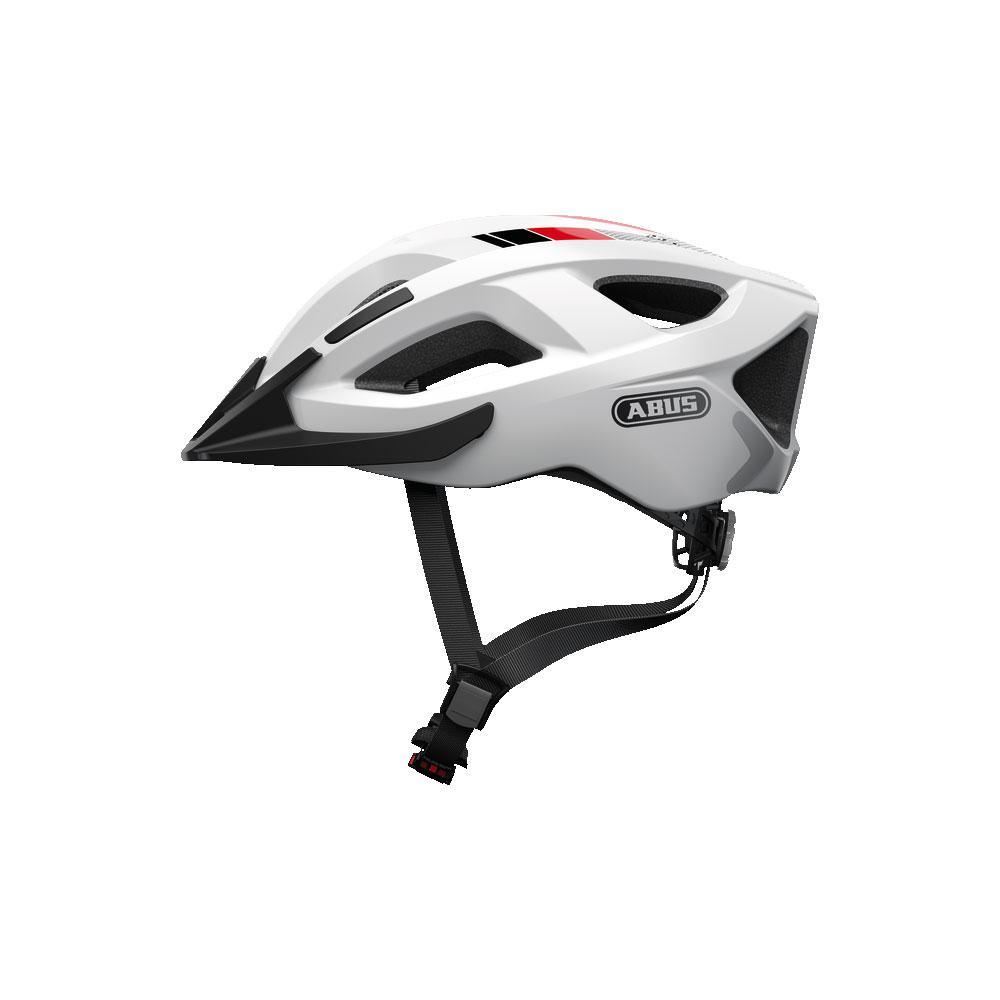 ABUS ADURO 2.0 Road Bisiklet Kaskı M - Race White