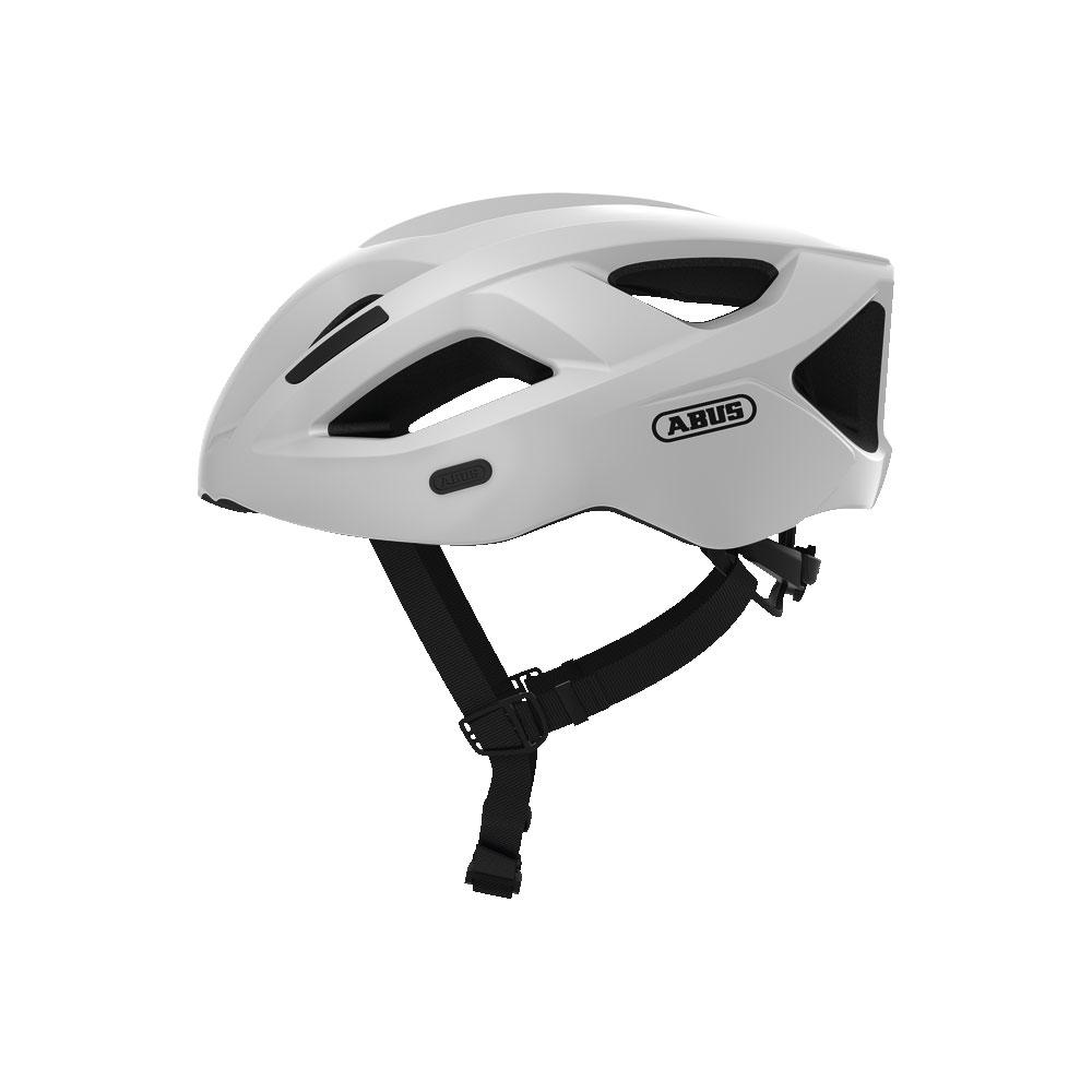 ABUS ADURO 2.1 Road Bisiklet Kaskı M - Polar White