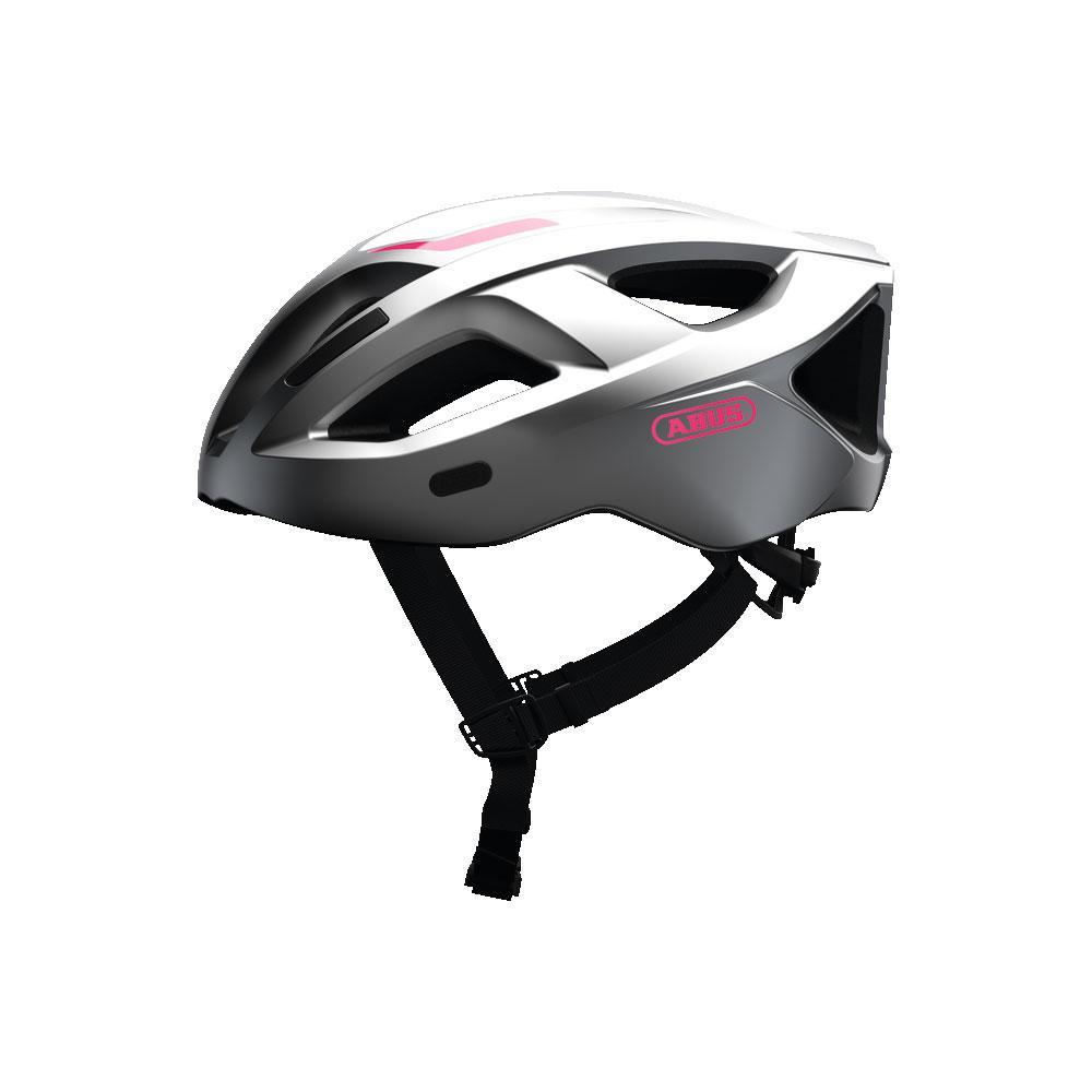 ABUS ADURO 2.1 Road Bisiklet Kaskı S - Gleam Silver