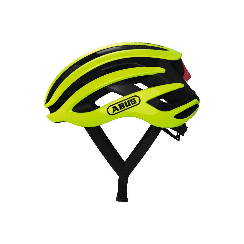 ABUS Airbreaker Road Bisiklet Kaskı L - Neon Yellow