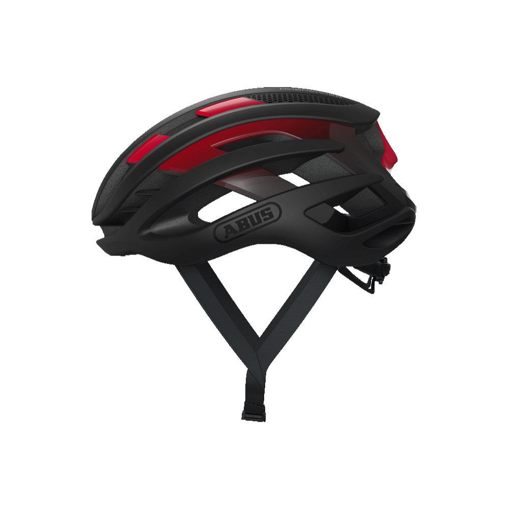 ABUS Airbreaker Road Bisiklet Kaskı M - Black / Red