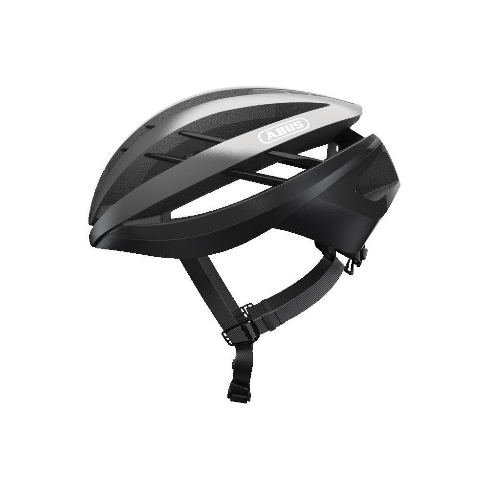 ABUS Aventor Road Bisiklet Kaskı L - Dark Grey