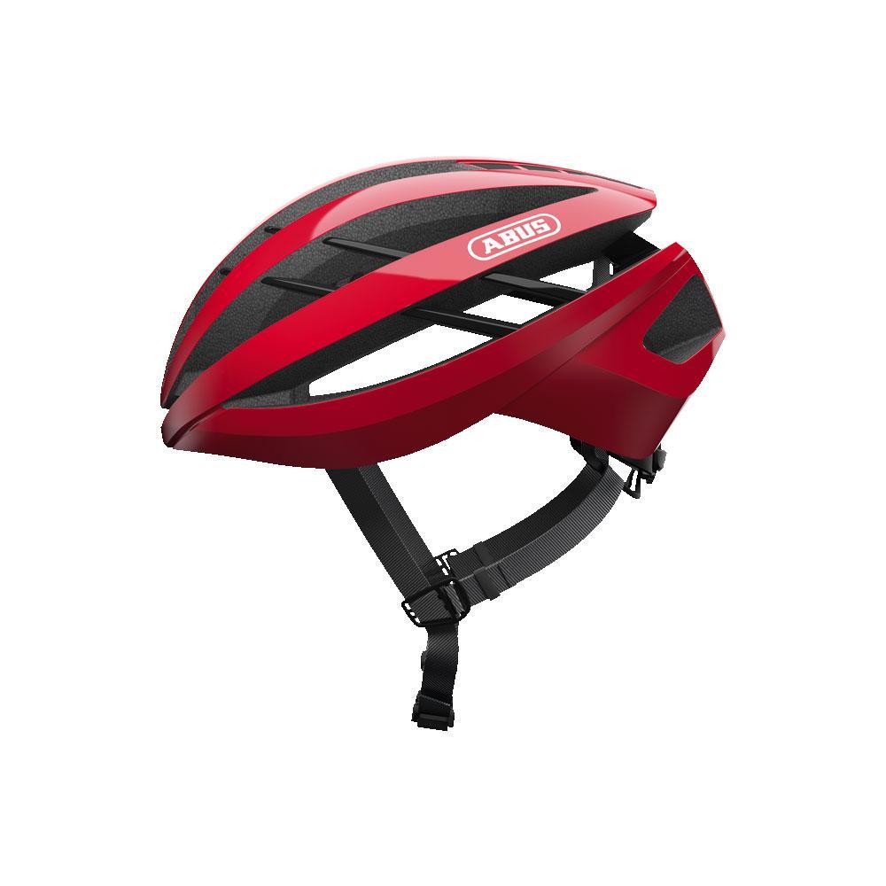 ABUS Aventor Road Bisiklet Kaskı M - Racing Red