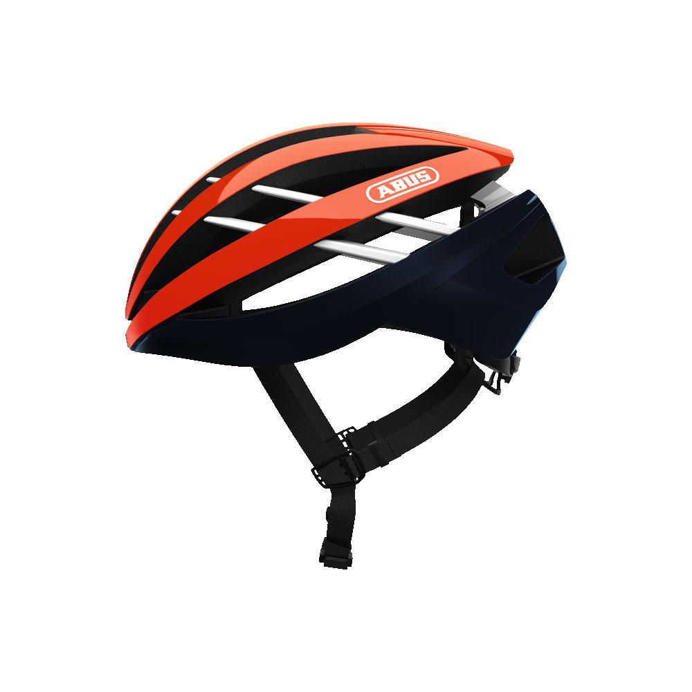 ABUS Aventor Road Bisiklet Kaskı M - Shrimp Orange