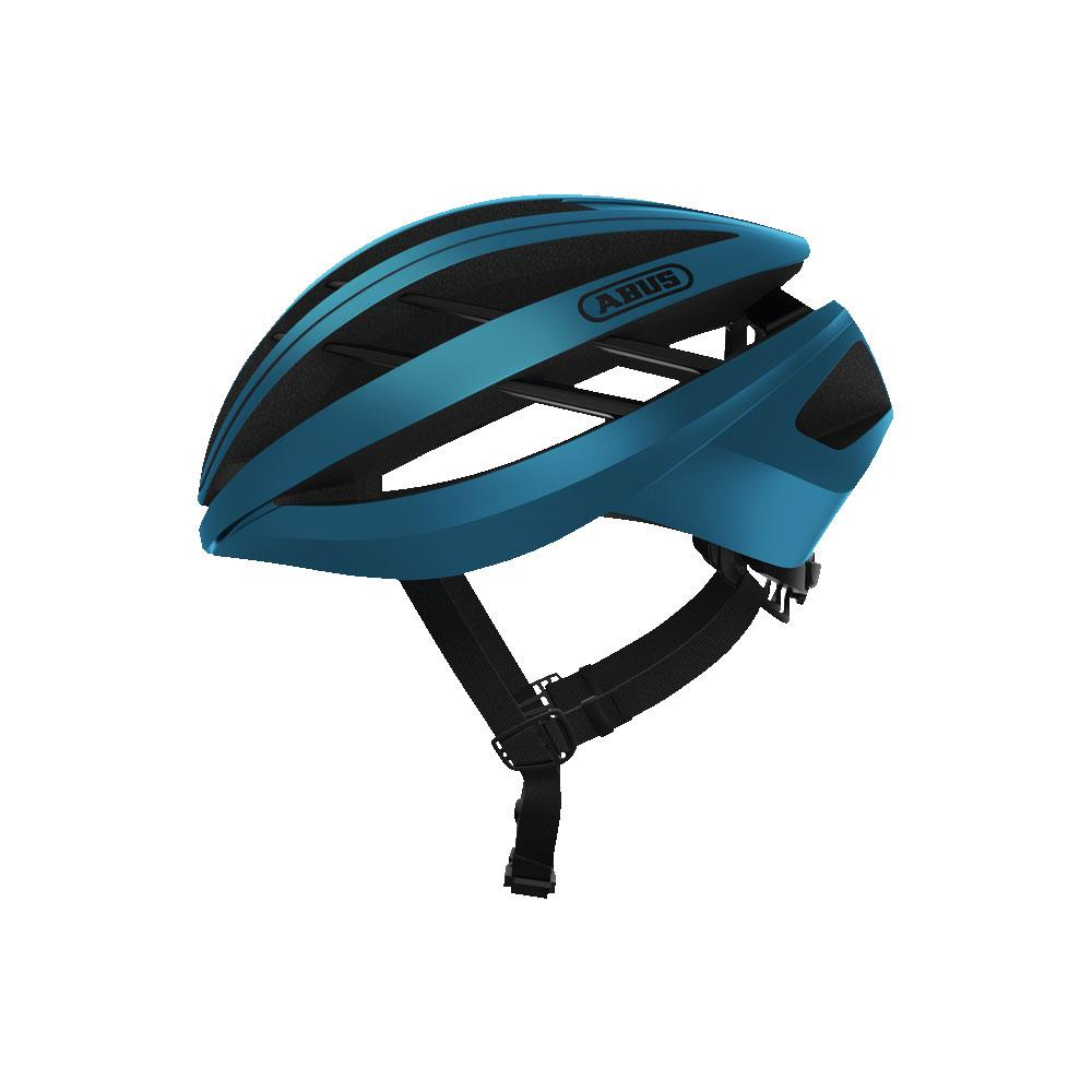 ABUS Aventor Road Bisiklet Kaskı M - Steel Blue