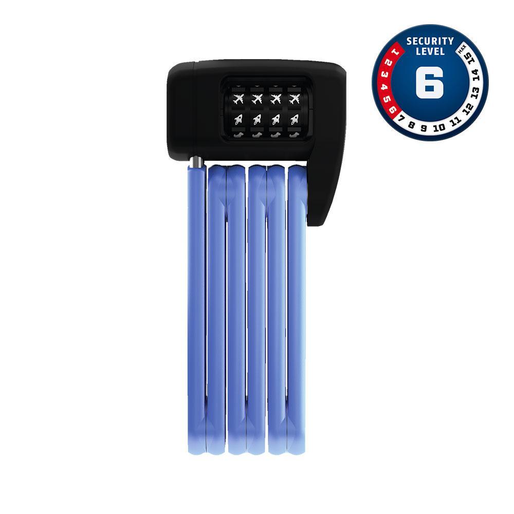 ABUS BORDO Lite Mini 6055C/60 Blue Symbols Bisiklet Kilidi