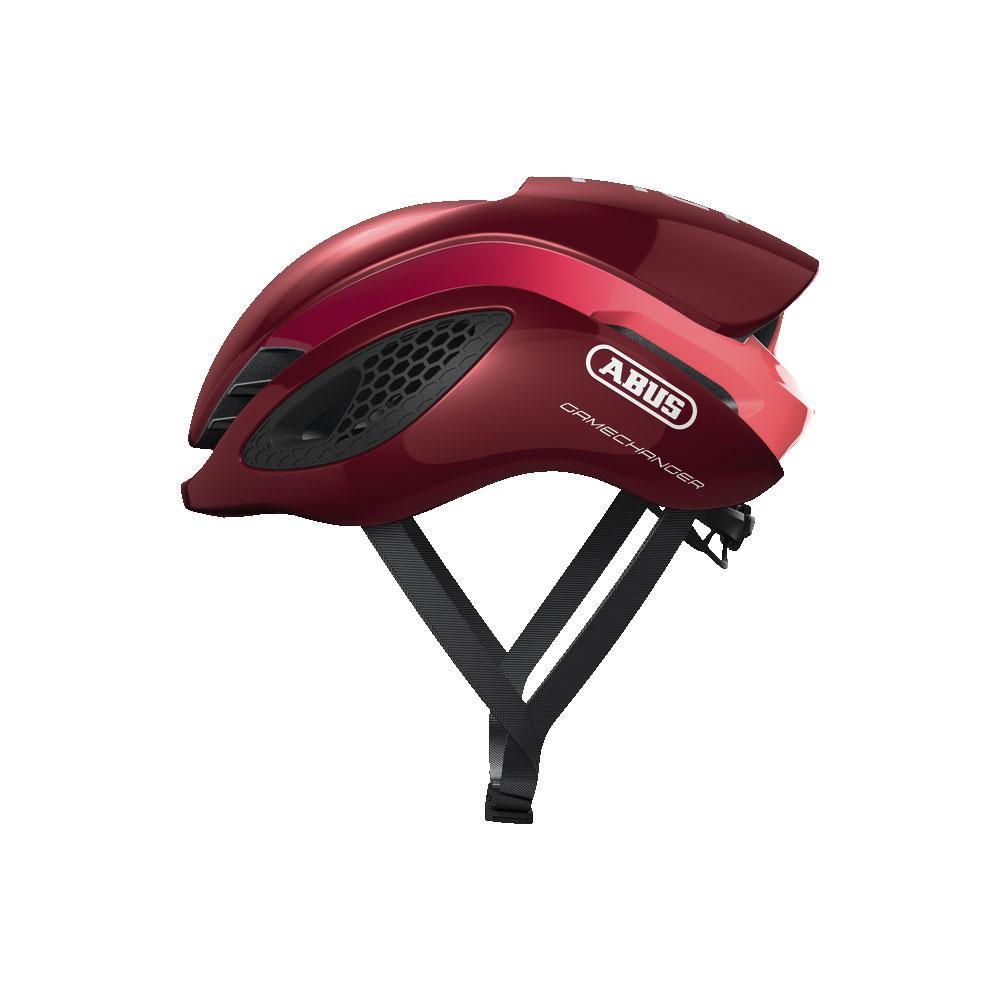 ABUS Gamechanger Road Bisiklet Kaskı M - Bordeaux Red