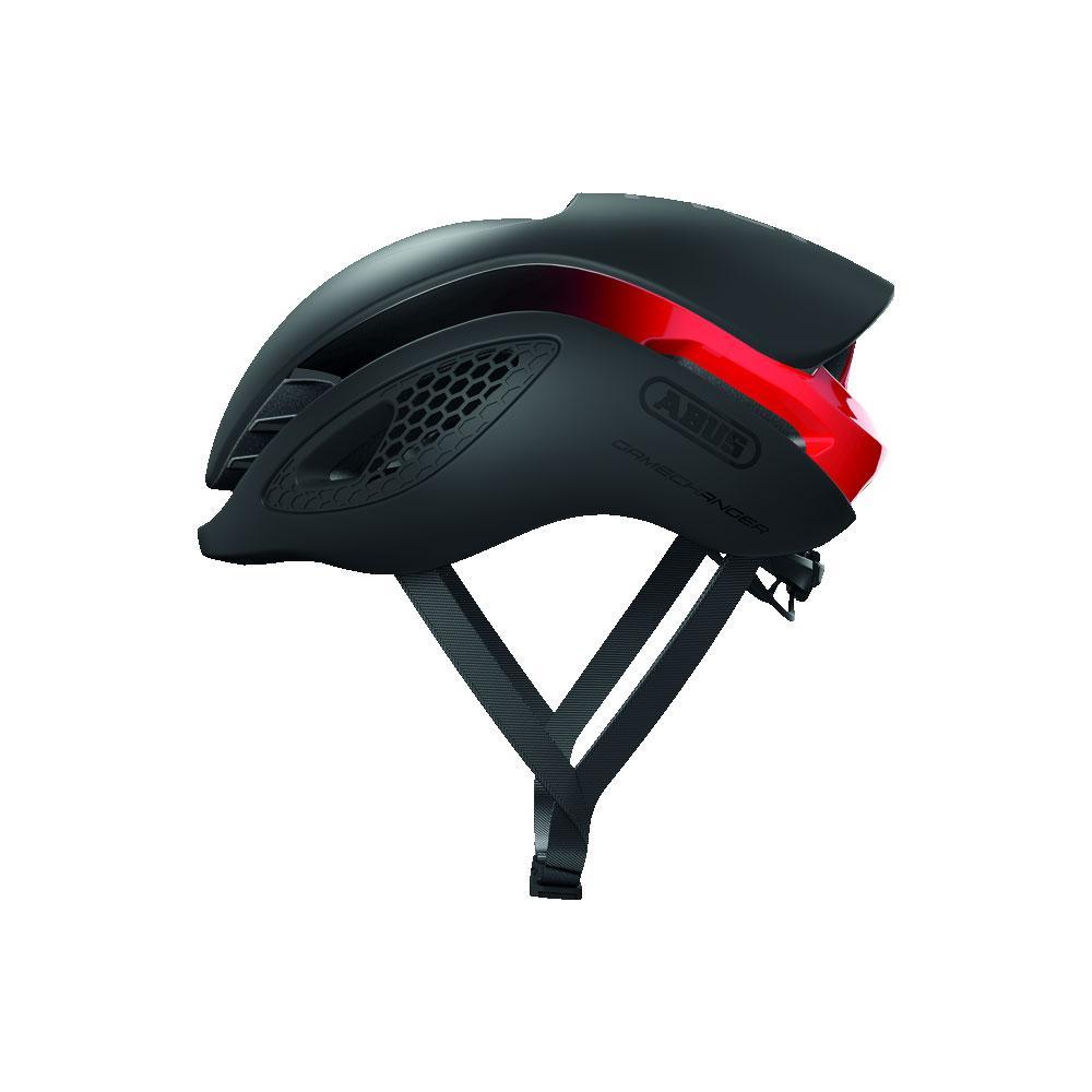 ABUS Gamechanger Road Bisiklet Kaskı M - Black / Red