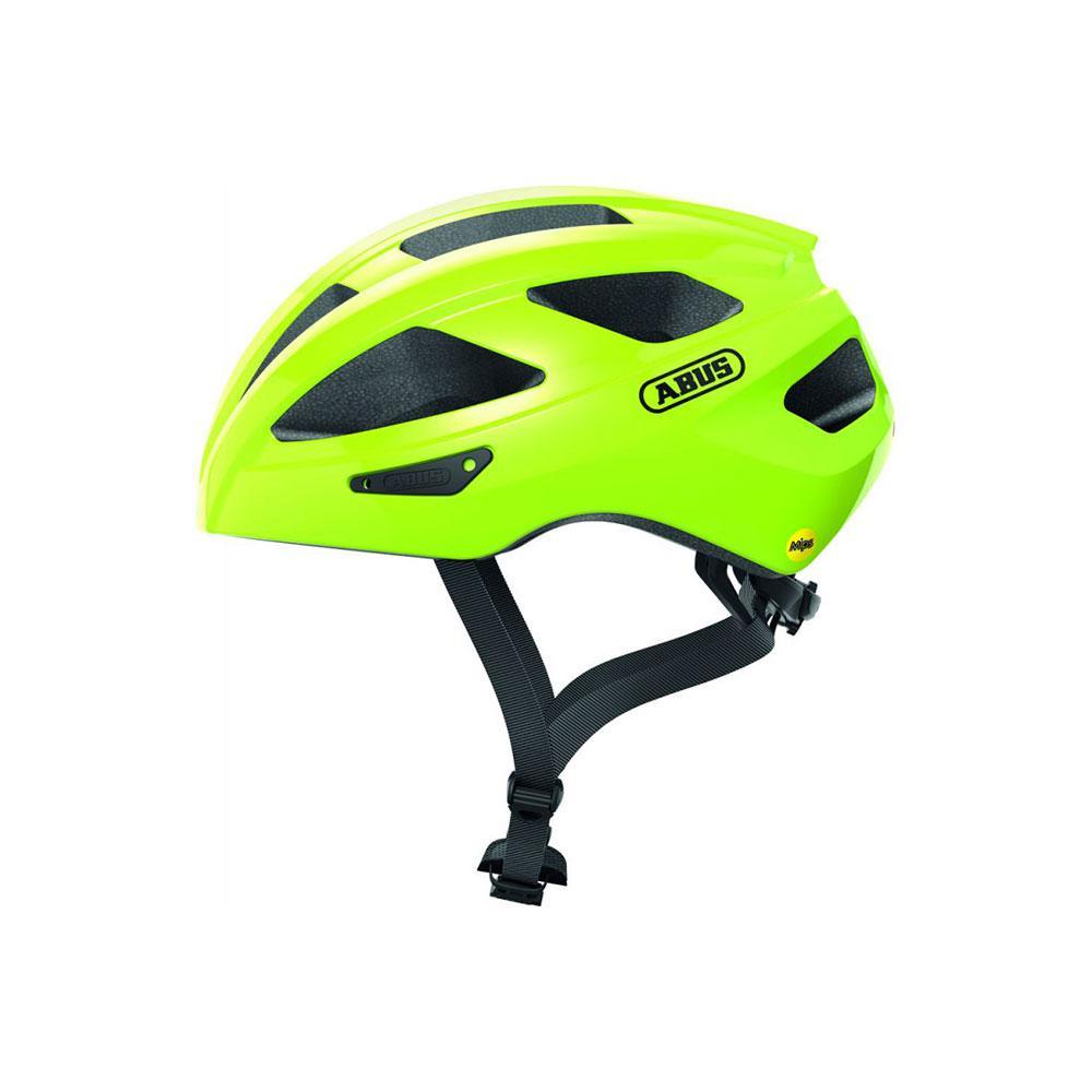 ABUS MACATOR MIPS Road Bisiklet Kaskı M - Signal Yellow