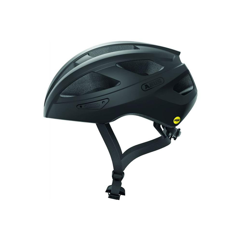 ABUS MACATOR MIPS Road Bisiklet Kaskı M - Velvet Black