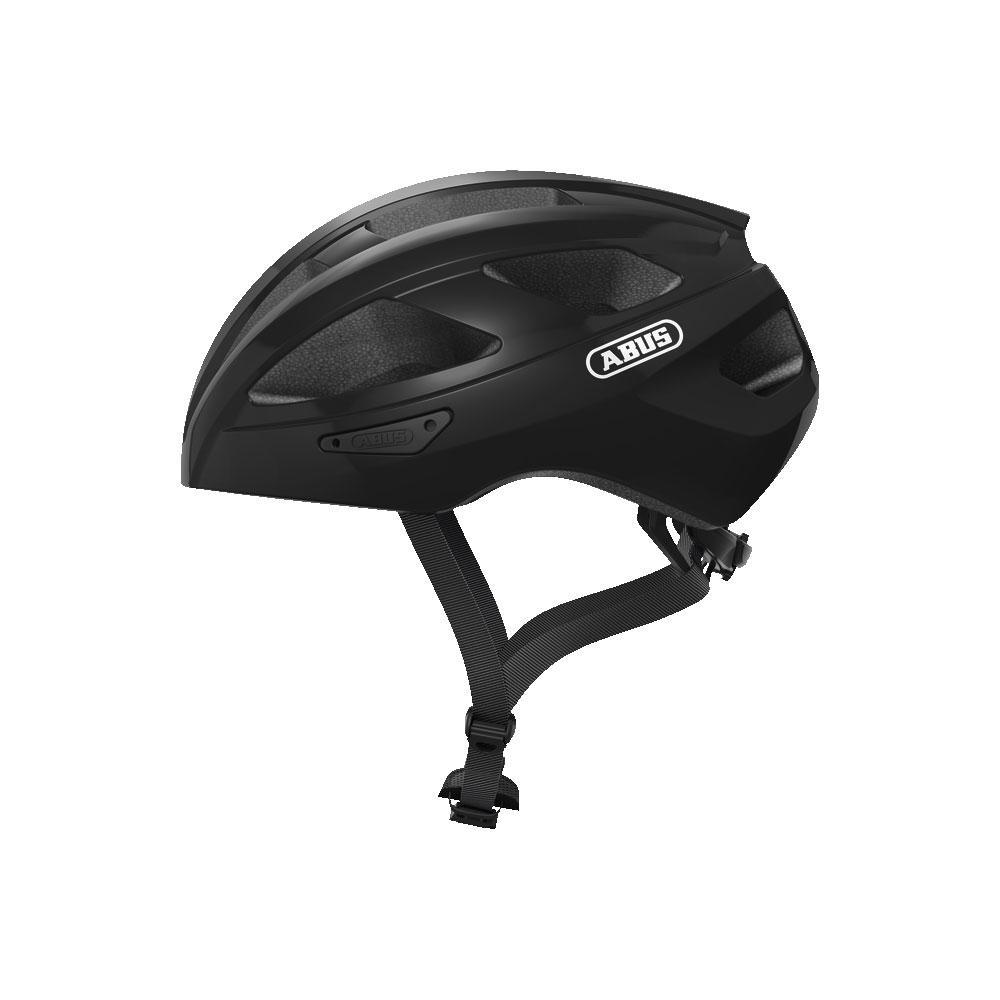 ABUS MACATOR Road Bisiklet Kaskı L - Velvet Black